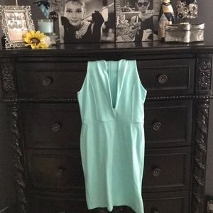 Foreign Exchange Teal Bodycon Dress
